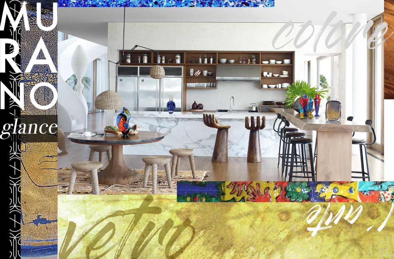 Murano Glance Collection Sybaris Collection