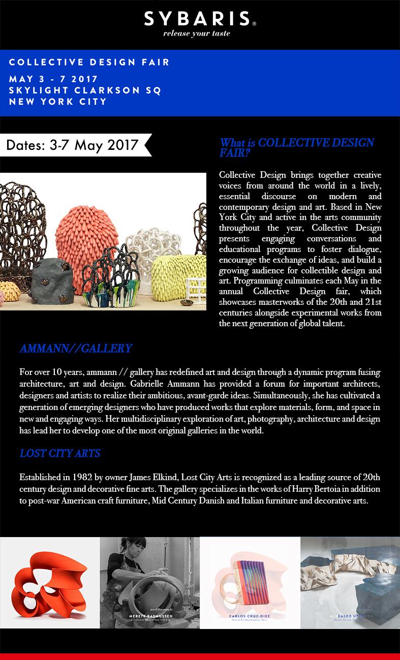 Collective Design Fair in Sybaris Collection