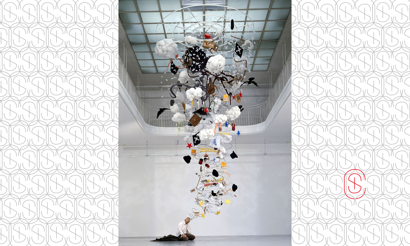 Suspended Sculpture for Sybaris Collection