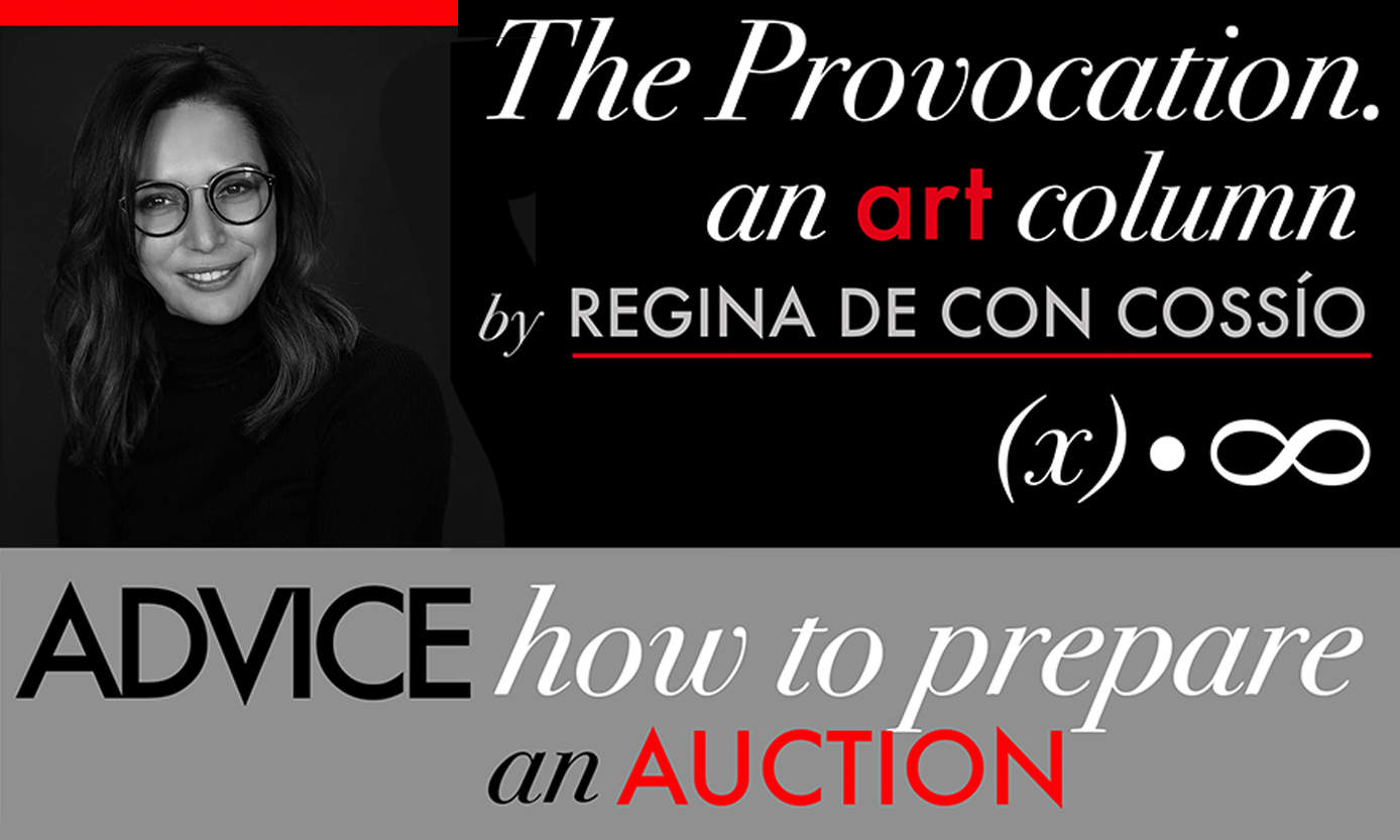How to Prepare for Art Auction - Sybaris Collection
