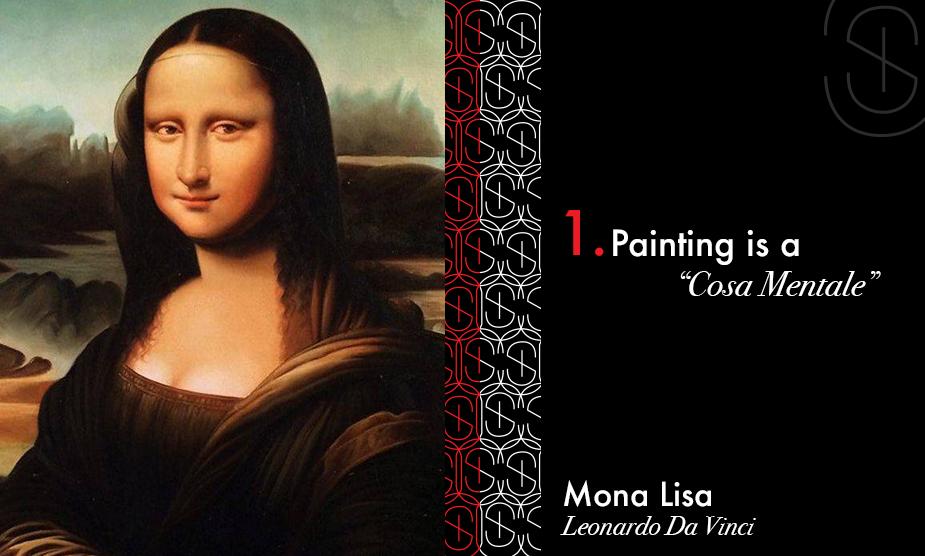Mona Lisa Conceptual Art for Sybaris Collection