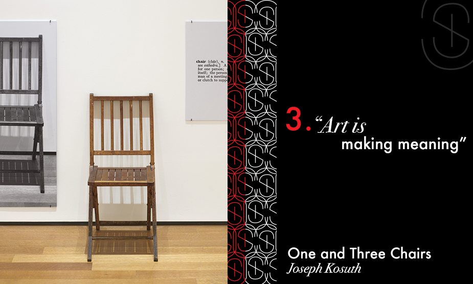 One and Three Chairs for Sybaris Collection