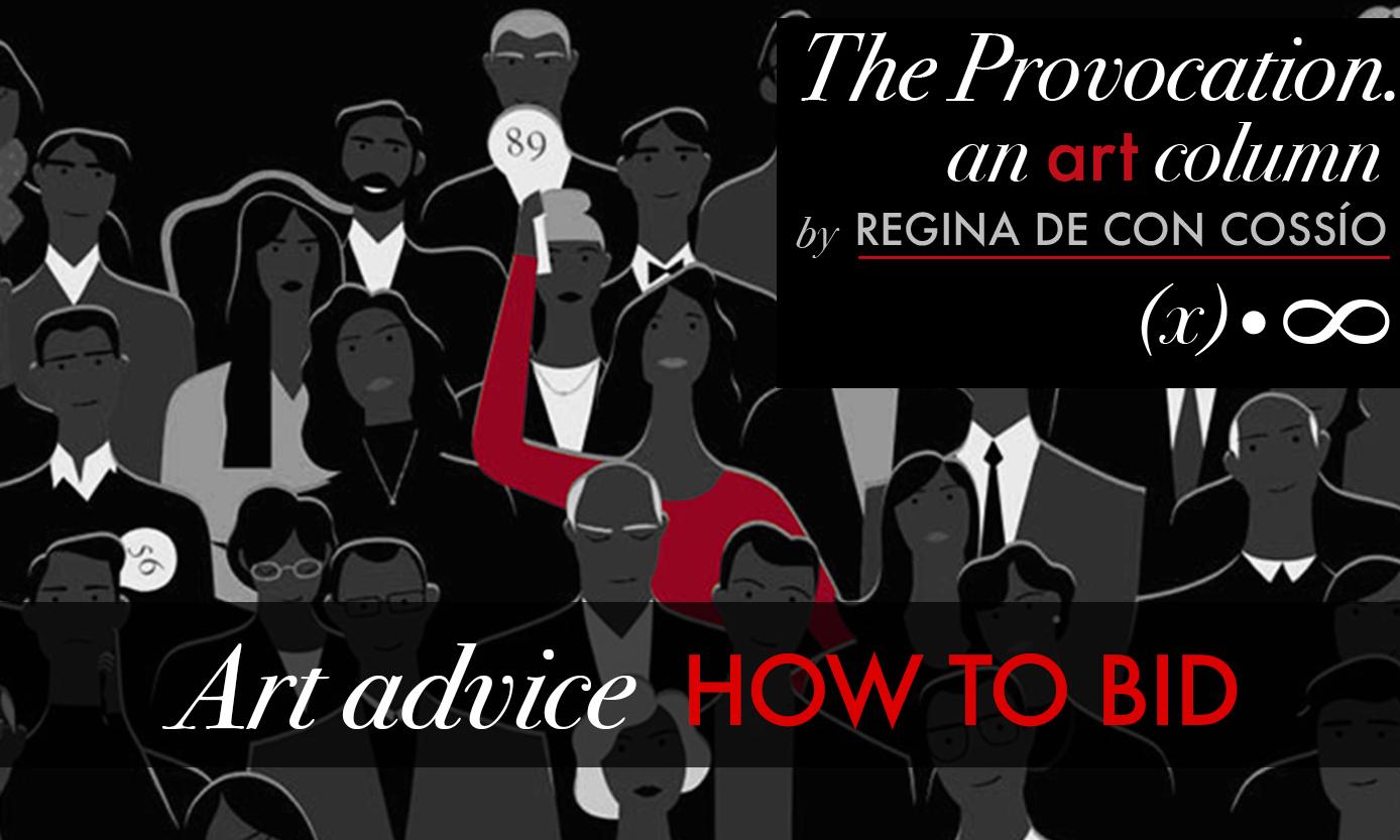 Art Advice-How to Bid in an Art Auction