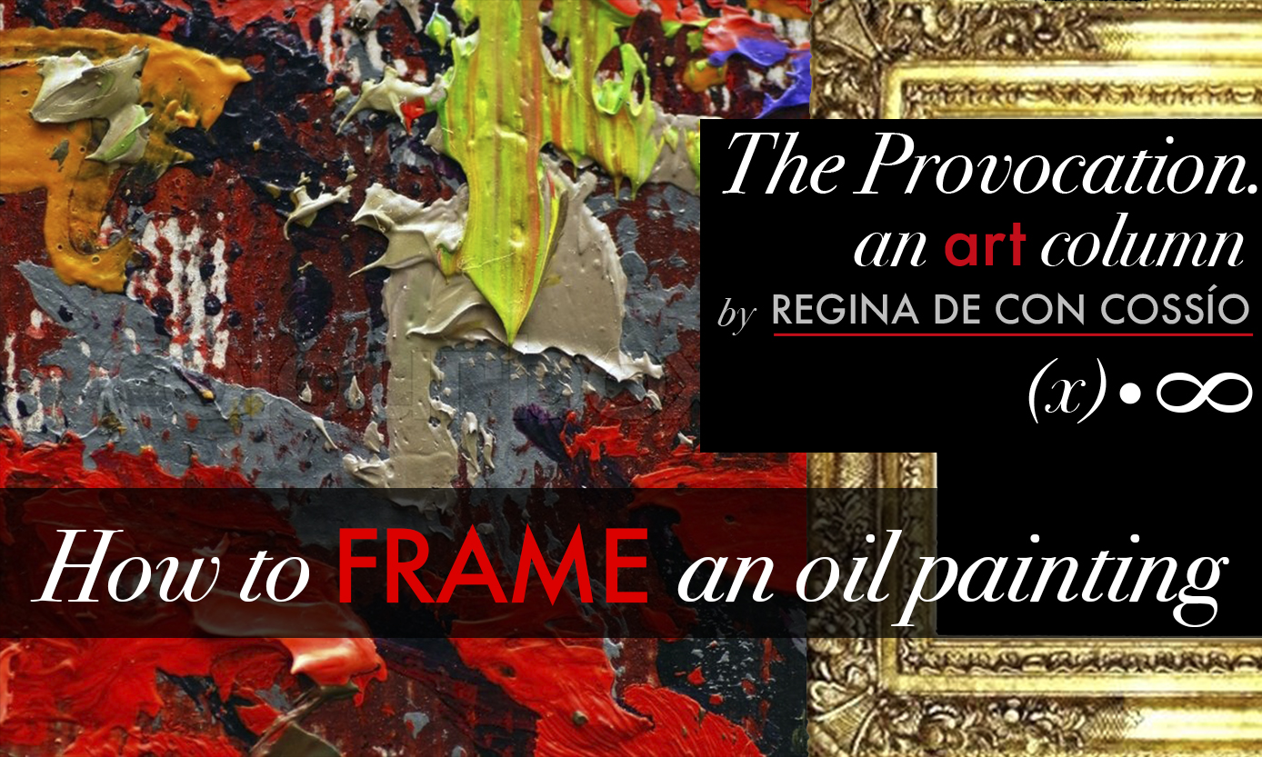 How to Frame an Oil Painting-Sybaris Collection