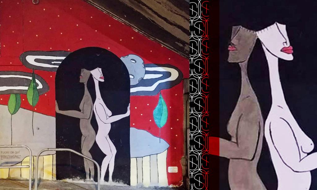Graffiti by Simone Berno in Italy